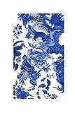 Desigual Serviette de PlageThink in Blue, Taille - 150 x 95 cm