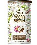 Vegan Protein | KOKOS | Pflanzliches Proteinpulver aus gesprossten Reis, Erbsen, Chia-Samen,...