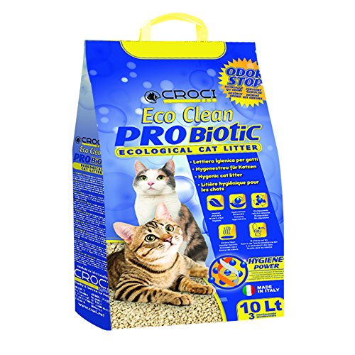 Croci C4025138 Arena para Gatos Eco Clean Probiotic, 10 L