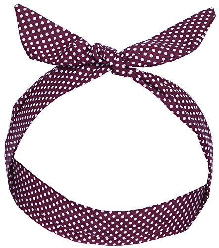 Unbekannt Retro Renate Polka DOTS Punkte Haarband Rockabilly