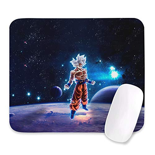 Dragon Ball Z Mouse Pad Anime Mouse Pad Slip Rubber Gaming Mouse Pad Rectangle Mouse Pads for Computers Laptop(10.6X12.6X0.2 Inch)