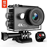 DBPOWER Action Cam, 4K Sports Action Kamera WiFi 2.0 Zoll FHD LCD Display Wasserdicht Helmkamera mit...