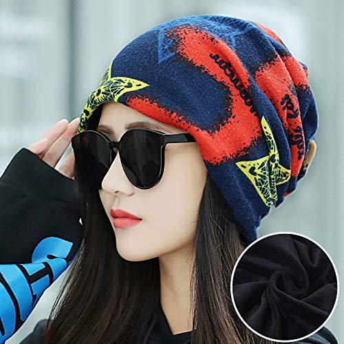 Xme Weiblicher Winter niedlicher Warmer Hut, britischer Multifunktionskragen, Art und Weisepulloverkappe