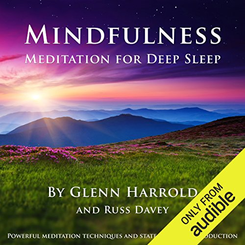 Mindfulness Meditation for Deep Sleep audiobook cover art