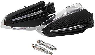 """Universal 7/8""""22mm Acessórios para motos Guardas de mão com LED Turn Sign Light Protetores de mão para motocicletas"""