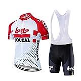 KTM MTK Jerseys de Ciclismo, Pantalones Cortos de Babero de Ciclismo Y Jersey...