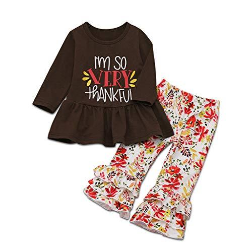 HSKB meisjes katoen T-shirt jurken print en ruches shorts voor kinderen
