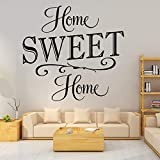 Sweet Home Etiqueta de la pared Decoración para el hogar Decoración para...