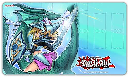 Konami - Zubehör Yu-Gi-Oh Fußmatte-Dark Magician Girl The Dragon Knight, Game Mat, 178220