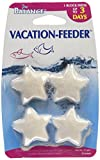 Penn-Plax Pro Balance Vacation Fish Feeder – Slow Release Food That's Great for Weekend Vacays: 1 Block Feeds up to 3 Days – 4 Starfish Shape Blocks (1 Package) (PBV3)