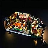 LYCH Juego de iluminación LED para Lego Ideas 21319 – Friends Central Perk Café Set de construcción, compatible con LEGO 21319, sin juego Lego