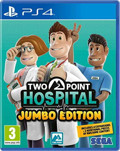 Two Point Hospital Jumbo Edition PS4 Game