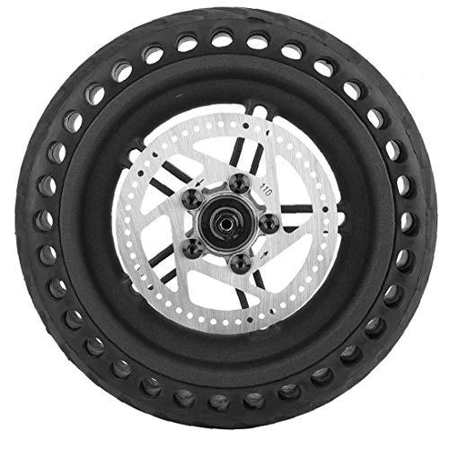 linjunddd Vespa del Neumático Trasero 8,5 Pulgadas Negro Nido De Abeja a Prueba De Explosiones Exterior del Neumático Rueda De Disco del Cubo para Xiaomi M365 Producto Al Aire Libre