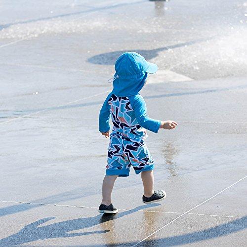 Twinklebelle Design Inc. Twinklebelle Design Inc. 幼児用,ラッシュガ-ドシャツ、セット、50+日焼予防 シャツS 0-6m,氷山