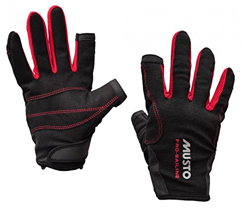 Musto Essential Sailing Long Finger Gloves BLACK AS0803 Sizes- - XXLarge