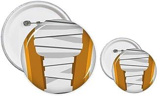 Égypte Mummy Cercueil Illustration Pin's Badge Design Kit Artisanat
