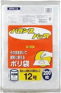 オルディ バランスパック規格袋12号 200枚×10