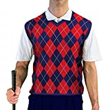 V-Neck Argyle Golf Sweater Vests