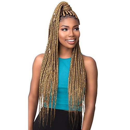MULTI PACK DEALS! Sensationnel Synthetic Hair Braids XPRESSION 3X Ruwa Pre Layered Braid 24' (5-PACK, 99J)