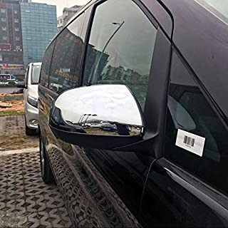 Alina-Shops - Car Side Rearview Mirror Decorative Cover Trim For Mercedes-Benz Vito W447 2014 2015 Car Accessories Styling