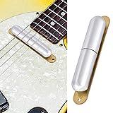 Pastilla de guitarra eléctrica, pastilla de guitarra con plomo plateado de 11,6 pulgadas, para...