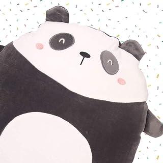 Soft Panda Plush Hugging Pillow Cute Stuffed Animal Toy Kids Gifts for Birthday, Valentine, Christmas 15 inch×13 inch