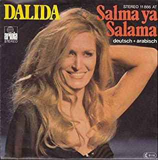 Dalida - Salma Ya Salama (Deutsch + Arabisch) - Ariola - 11 866 AT