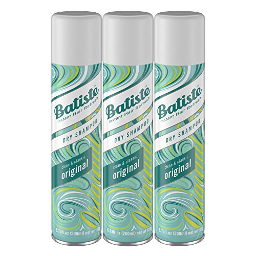 Batiste Dry Shampoo, Original, 3 Count (Packaging...
