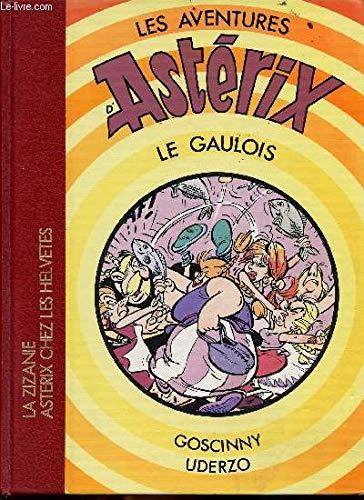 Album double n°8 - La Zizanie + Astérix chez les helvètes