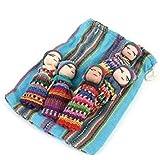 Ethical Roots Poupée tracas commerce équitable – Grandes et petites poupées tracas dans une pochette cadeau – Fabriquées à la main et provenant de sources éthiques, Taille L