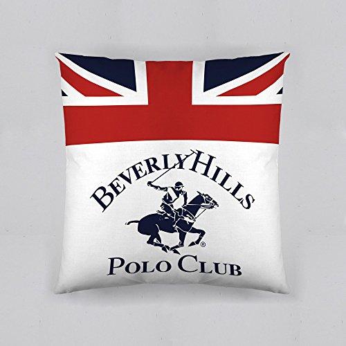 Beverly Hills Polo Club Cojín con Relleno Madison 60cm x 60cm