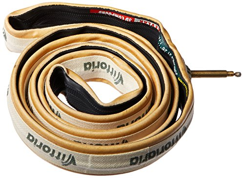 Vittoria Juniores - Cubierta para Bicicletas, Color Negro/Beige, Talla FR: 20' - 21mm