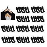 30 Piezas Mini Ropa Flocada Antideslizante, Ganchos Para Colgar Ropa Mini Flocado, Ganchos Para Colgar Ropa Flocada, Ahorra Espacio Flocado, Armario, Abrigo, Perchas Flocadas, Organizador de Armario