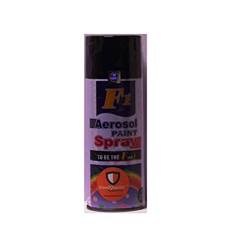 Motopart F1 AEROSOL Spray Paint 450 ml Black