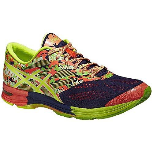 ASICS Gel-Noosa Tri 10 - Zapatillas de running para hombre, color azul (indigo blue/flash coral/flash 4906), talla 44.5