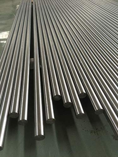 Barra de titanio de 1,2 mm, grado 2, varilla redonda de titanio 3.7035, onda completa, material redondo de 0,2 metros
