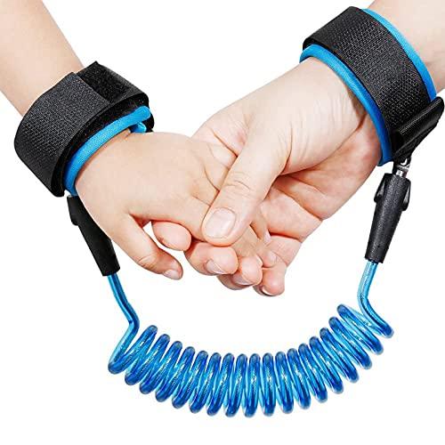 Pulsera MuñEca Cinturones Seguridad Suaves CinturóN Anti-Perdida ArnéS Seguridad NiñOs PequeñOs Correa Ayudante Viaje Para Centros Comerciales, Caminar, Estaciones, Carreteras, Exteriores, Etc. 2.5 M
