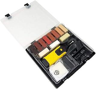 KLOP256 Kit reparación Pisos laminados 11 Limpieza Color Suavizado con Esponja para Plancha eléctrica multifunción dañada Hogar Fácil Instalar Ceras prácticas oques Encimeras Cocina
