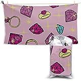 Toallas Beach Towels Shower Towels Toalla deportiva Toalla de turbante de pelo de joyería de dibujos animados creativos lindos de moda grande Bathroom Towels 160X80CM