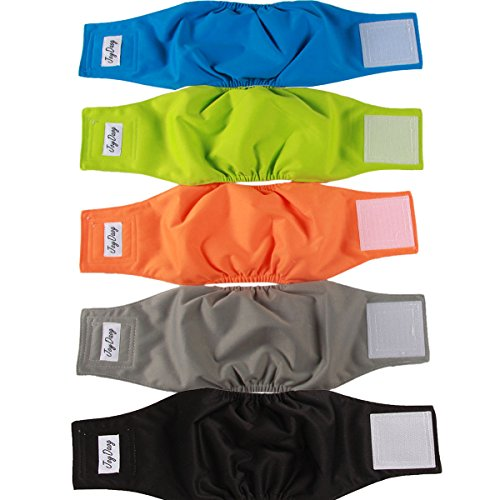 Washable Belly Nappies Male Dog Diapers