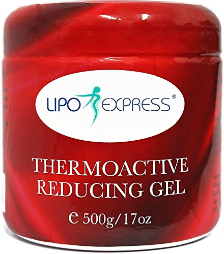 Lipo Express Cellulite Cream - Best Anti-cellulite Hot Gel-cream, Slimming and Body Firming Gel with Thermogenic Action - Also Great for Muscle Relaxation and Massage 500g (17)