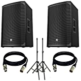 Electro-Voice EKX-12P Powered 12' 2-Way Speaker US. With free Stand and XLR Cables.