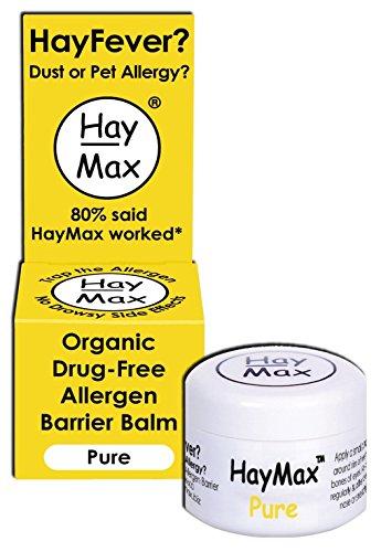 Haymax Pure Organic Pollen Balm For Hayfever 5ml