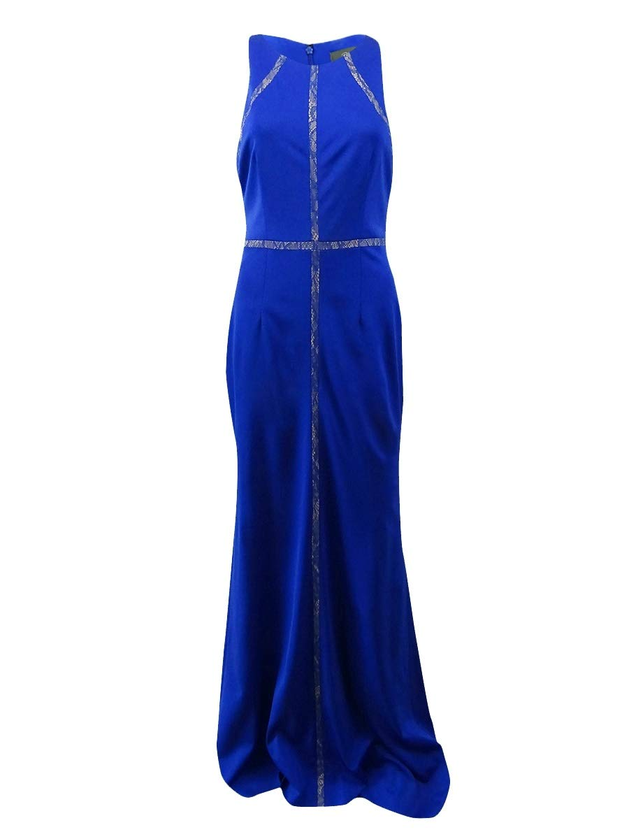 Available at Amazon: Adrianna Papell Women's Lace-Trim Gown