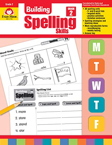 Compare Textbook Prices for Building Spelling Skills, Grade 2 Teacher ed. Edition ISBN 0023472027061 by Evan Moor