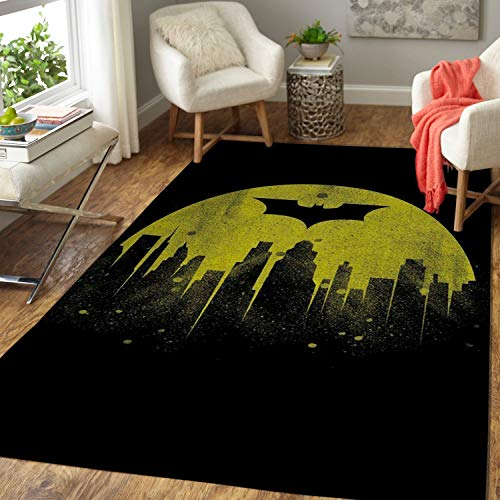 Batman Arkham City Area Rug