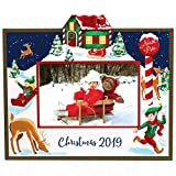 "Exposures Christmas Break at The North Pole Picture Frame, Keepsake Holds 4""x6"" Landscape Photo"
