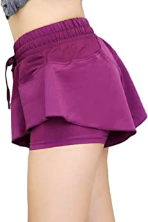 Womens Sport Quick-Drying Stretch Slim Gym Tennis Yoga Shorts