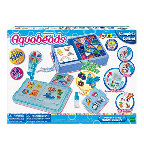 Aquabeads Deluxe Studio For $12.49 After $13 Price Drop And Aquabeads Beginners Studio For $7.49 After $8 Price Drop From Amazon