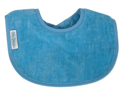 Silly Billyz Bavoir Mini Coton Bio, Bleu, 0 à 2 ans